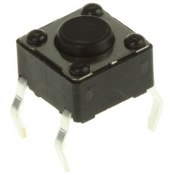 Push Switch per 3 Stuks