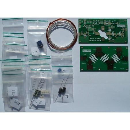 Onderdelen kit 150 Watt 70 MHZ VHF Eindtrap inclusief MRF151 Mosfet