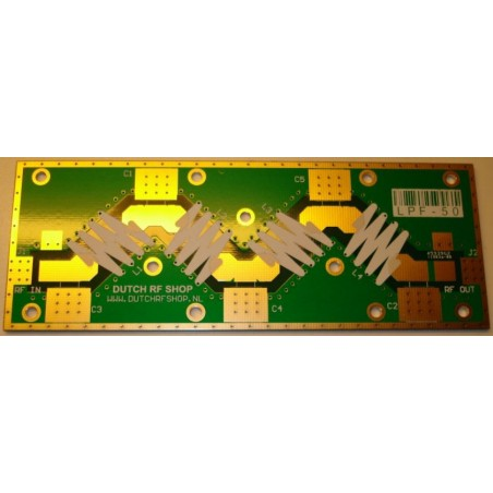 PCB Lowpass Filter