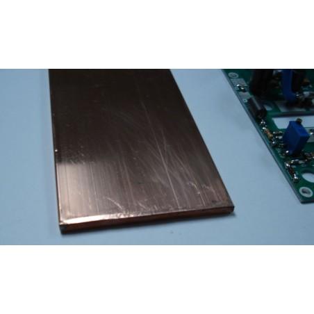 Copper bar 120x60x4