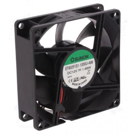Ventilator Sunon 80x80 mm 12 Volt