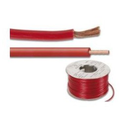 Power cable 4mm2 red