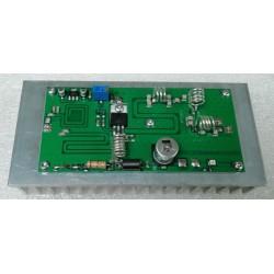 100 Watt eindtrap 80-108MHZ op koelprofiel