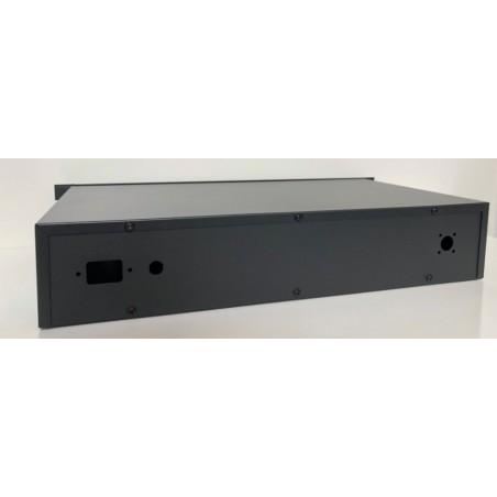Luxe 19 Inch behuizing 2HE LCD zwart