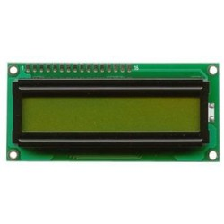 LCD Display 1x16 Groen Met Backlight