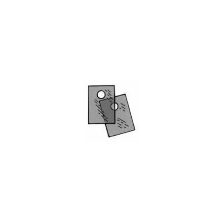 Mica isolatieplaat t.b.v. TO220