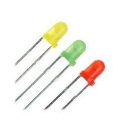 3mm LED geel 15 Stuks