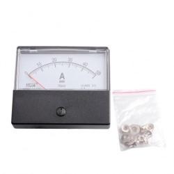 Amperemeter inbouw 50A DC met losse shunt