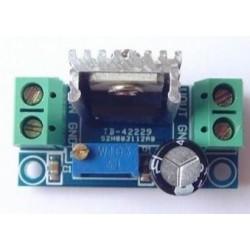 LM317 DC-DC step-down DC converter