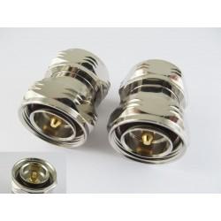 Adapter 7/16 male - 7/16 male