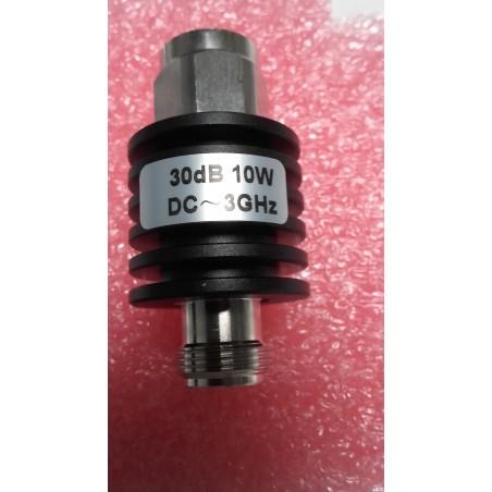 Attenuator 30db 10 Watt