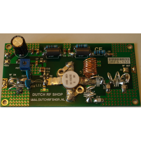 PCB Kit 150 Watt VHF Amplifier + Lowpass Filter